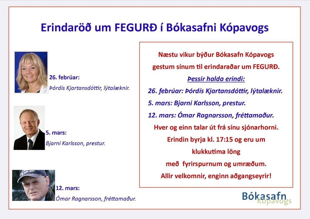 Bókasafn Kópavogs Ómar Ragnarsson