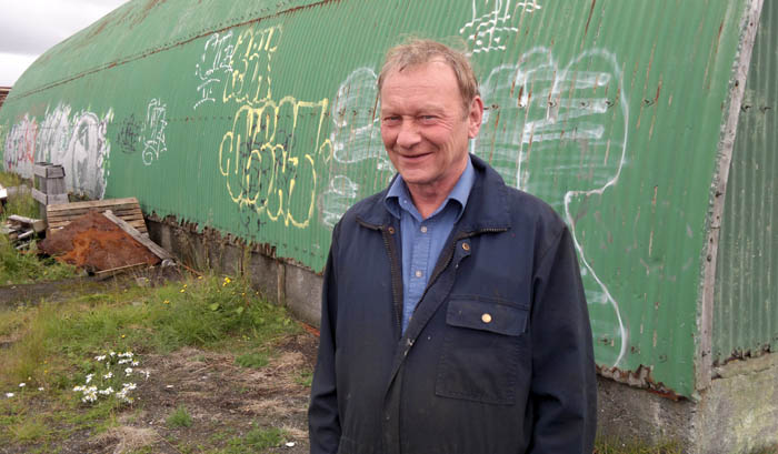 Guðmundur Grimsson hjá fyrirtækinu Time Tours, sem hefur aðstöðu á svæðinu, fagnar hugmyndum um uppbyggingu á Kársnesi.