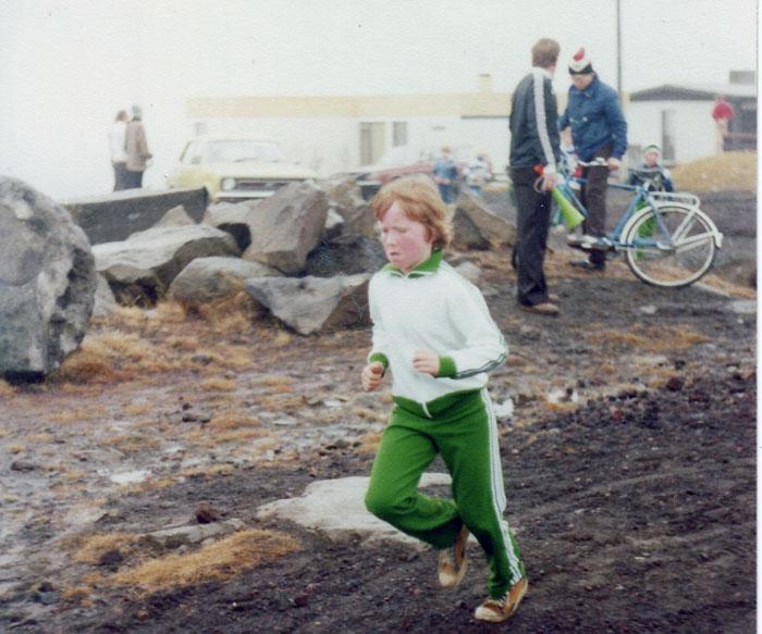 Kristinn Jakobsson, einn besti dómari landsins í fótbolta, á æfingartímabilinu.