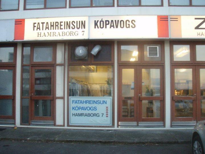 Fatahreinsun Kópavogs hefur verið í Hamraborg 7 um árabil.
