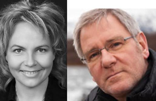 Guðríður Arnardóttir og Hafsteinn Karlsson.