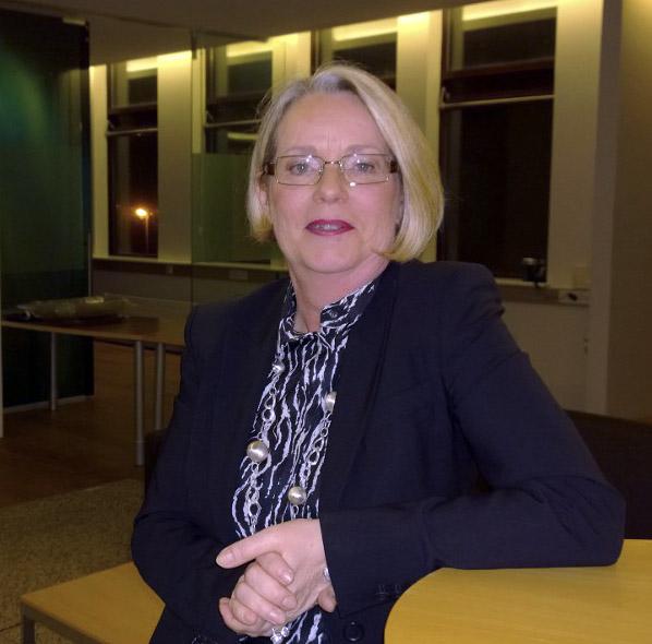 Margrét Friðriksdóttir býður sig fram í fyrsta sæti á lista Sjálfstæðisflokksins í Kópavogi.