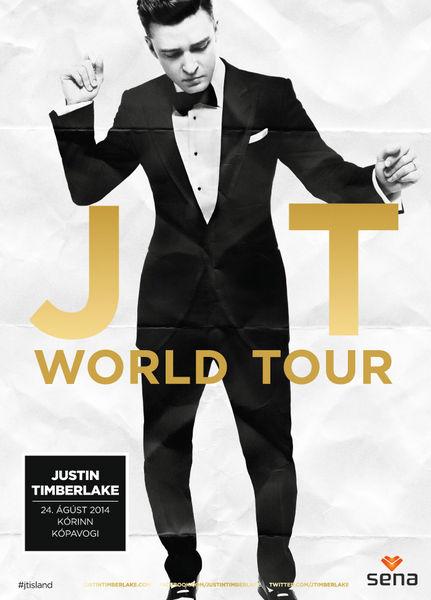 Justin Timberlake kemur við í Kórnum í Kópavogi í sumar á tónleikaferðalagi sínu um heiminn.