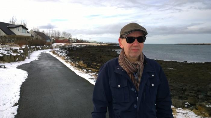 Björn Thoroddsen, gítarleikari og Kársnesingur.
