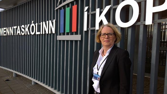 Margrét Friðriksdóttir, skólameistari MK.