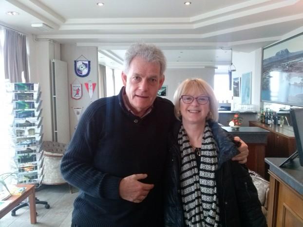 Richard og Susann Smith frá Bretlandi.