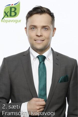 Sigurjón Jónsson skipar 2. sæti á lista Framsóknarflokksins í Kópavogi.
