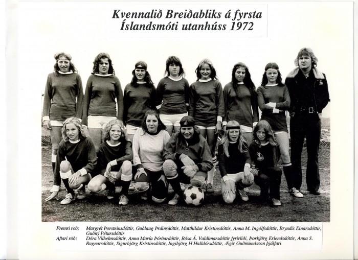 Breiðablik árið 1972