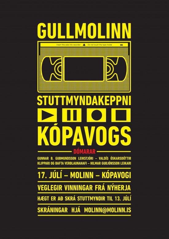 Gullmolinn, stuttmyndahátíð Molans í Kópavogi 2014.