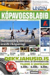 Kópavogsblaðið 3. janúar 2015.