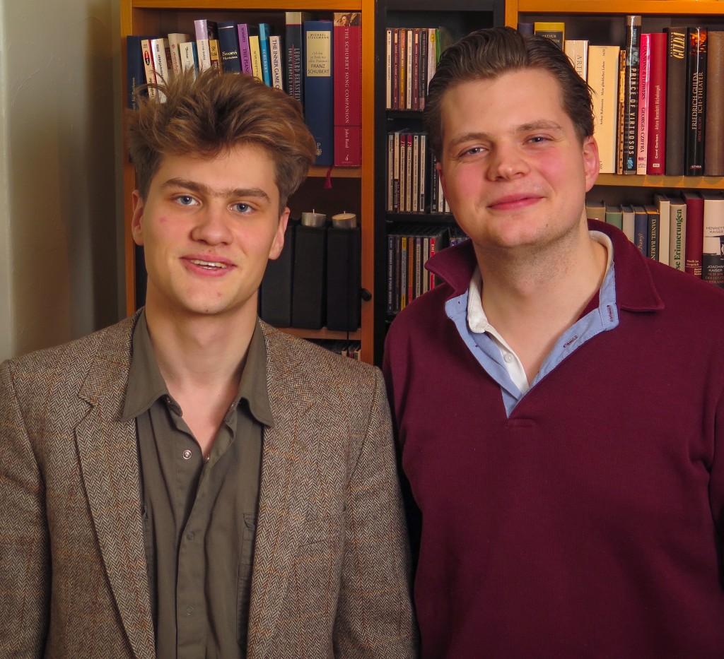 Bjarni Frímann Bjarnason og Kristján Jóhannesson.